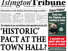 'HISTORIC' PACT AT THE TOWN HALL?