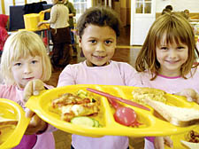 FREE DINNERS FOR PRIMARY SCHOOL KIDS