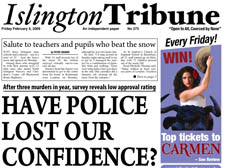 HAVE POLICE LOST OUR CONFIDENCE?