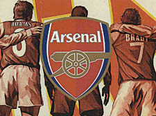 Islington tribune news arsena memorial emirates for Arsenal mural emirates