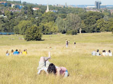 Hampstead Heath has become a popular spot for north Londoners to relax – but the area's past remains unknown to many of us