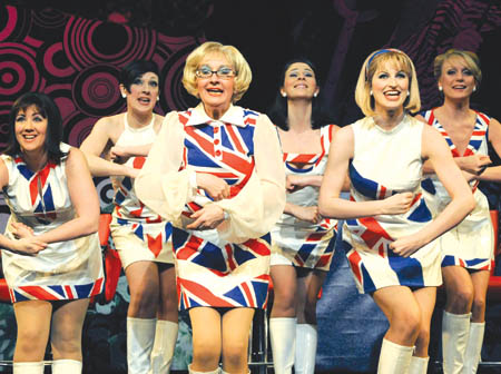 Wish was shout the swinging sixties musical tight ass