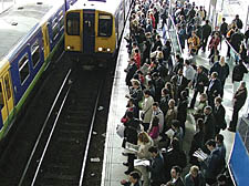Rush-hour on the North London Line