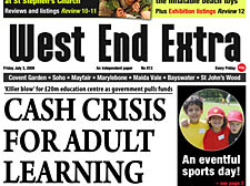 CASH CRISIS FOR ADULT LEARNING