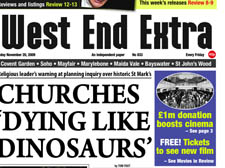 CHURCHES 'DYING LIKE DINOSAURS'